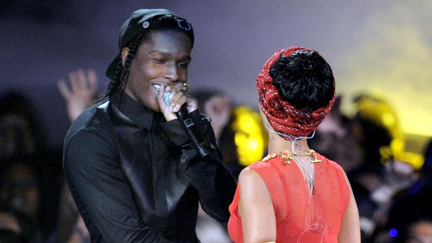 A$AP Rocky und Rihanna, 2012