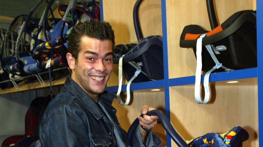 Adrian Ursache bei Dreharbeiten für eine TV-Show