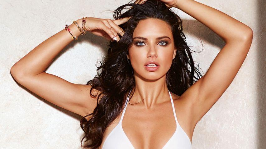 Hot! Adriana Lima zeigt ihre heißen Kurven beim Bikini-Shoot