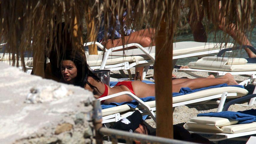 Adriana Lima auf Mykonos