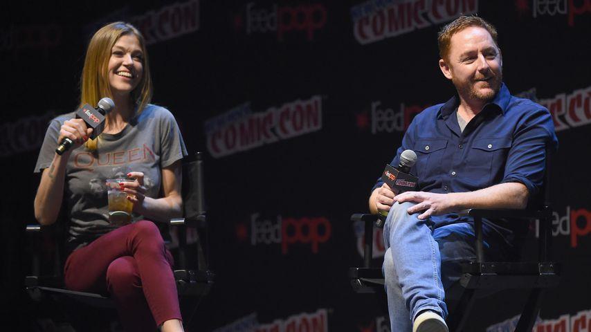 Adrianne Palicki und Scott Grimes, Oktober 2017
