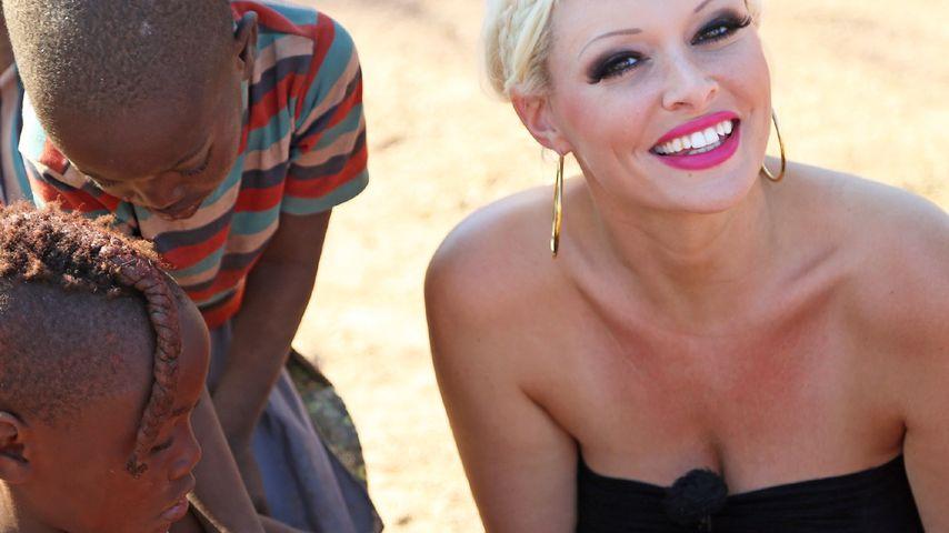 Wow! Daniela Katzenberger begeistert Himba-Stamm