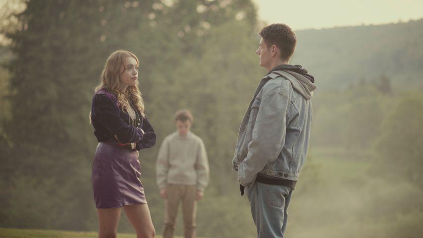 "Aimee Lou Wood und Connor Swindells in ""Sex Education"""