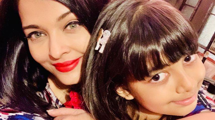 Aishwarya Rai Bachchan und ihre Tochter Aaradhya