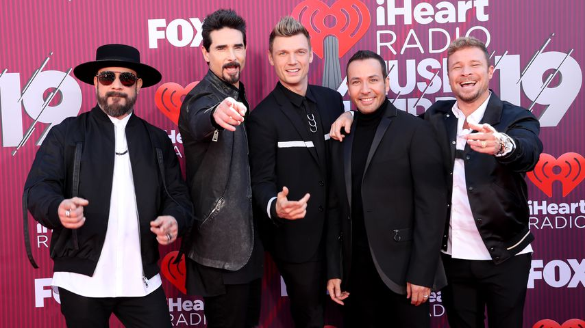 die Backstreet Boys bei den iHeartRadio Music Awards 2019