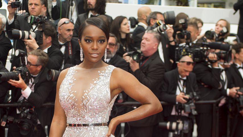 Aja Naomi King bei den Filmfestspielen in Cannes