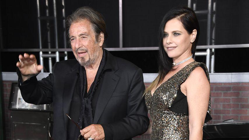 """Al Pacino und Meital Dohan bei der """"The Irishman""""-Premiere in Hollywood im Oktober 2019"""