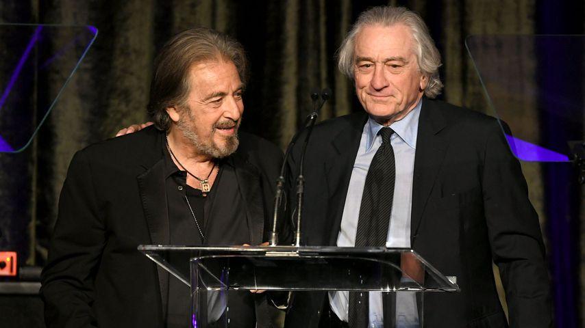 Al Pacino und Robert De Niro bei den American Icon Awards