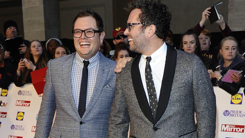 Alan Carr und Paul Drayton bei den Pride of Britain Awards 2014