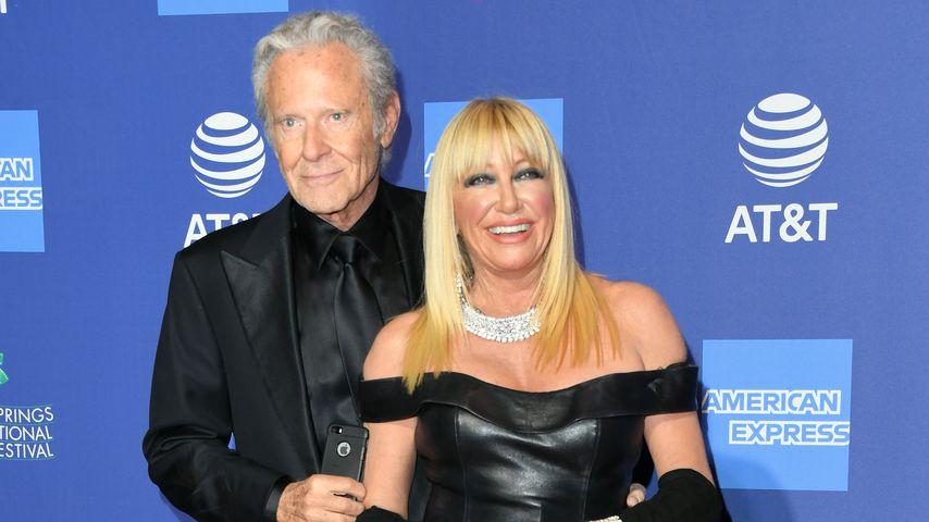 Alan Hamel und Suzanne Somers bei der Palm Springs International Film Festival Film Awards Gala