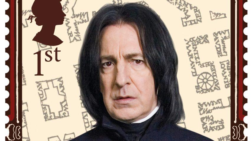 "Alan Rickman als ""Harry Potter""-Briefmarke 2018"