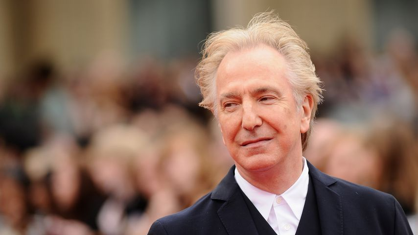 Alan Rickman im Juli 2011 in London