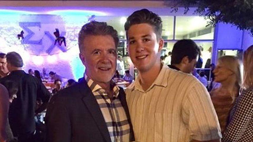 Alan Thicke mit seinem jüngsten Sohn Carter Thicke