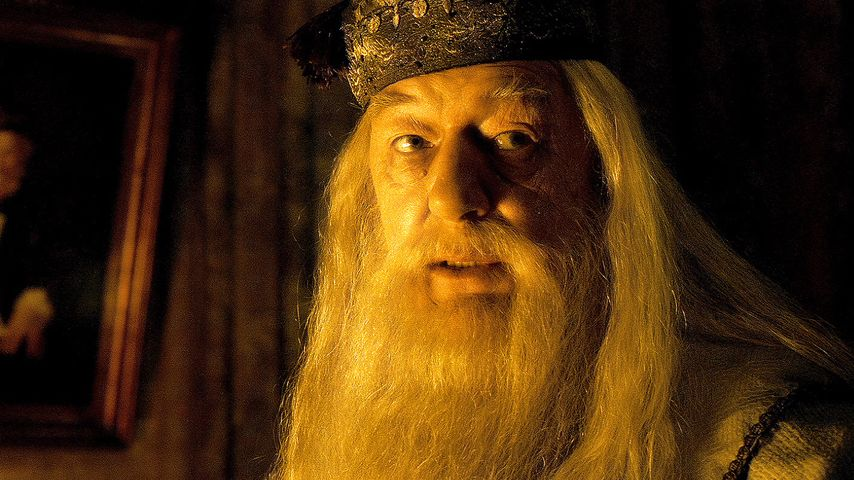 "Michael Gambon als ""Albus Dumbledore"""