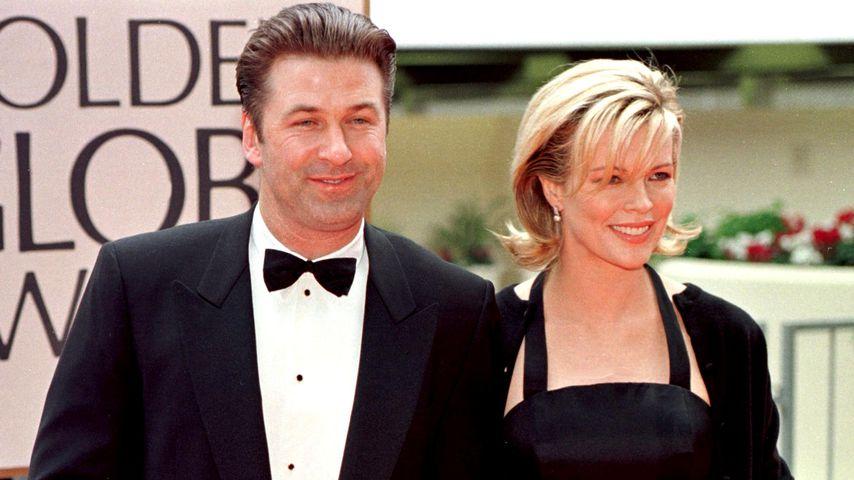 Alec Baldwin und Kim Basinger im Januar 1998 in Los Angeles