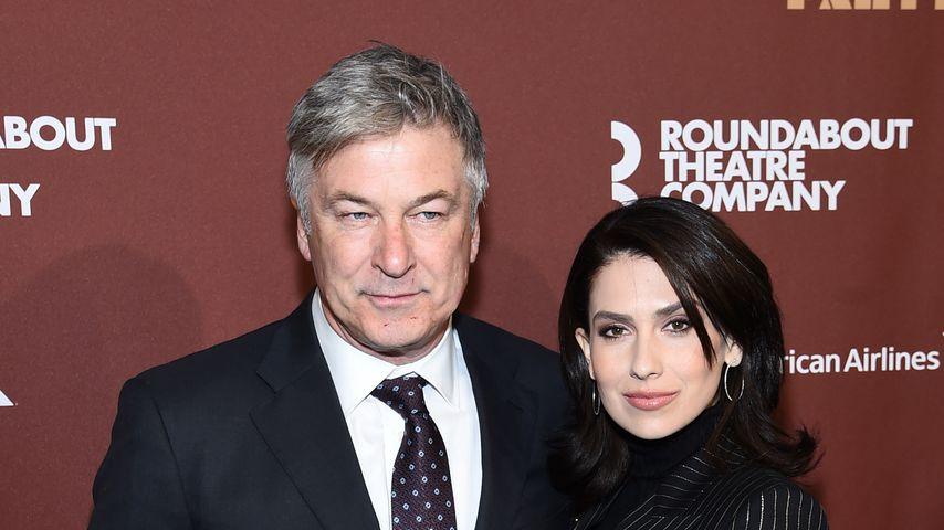 Alec und Hilaria Baldwin im März 2020 in New York