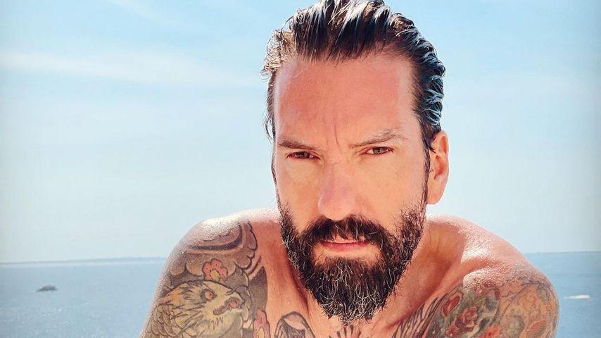 Alec Völkel im September 2021 auf Ibiza