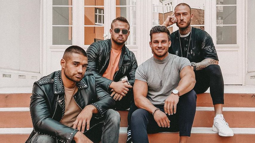 "Aleks, Juliano, Dominic und Elisha von ""Are You the One?"""