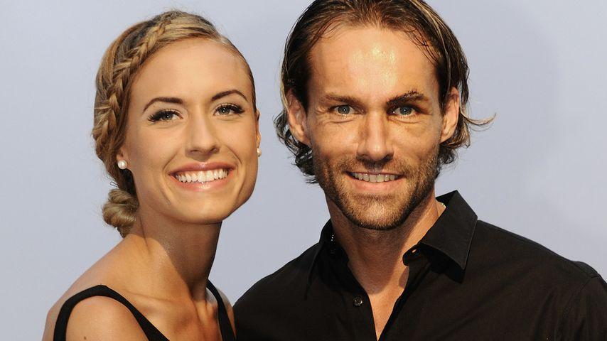 Alena Gerber und Sven Hannawald