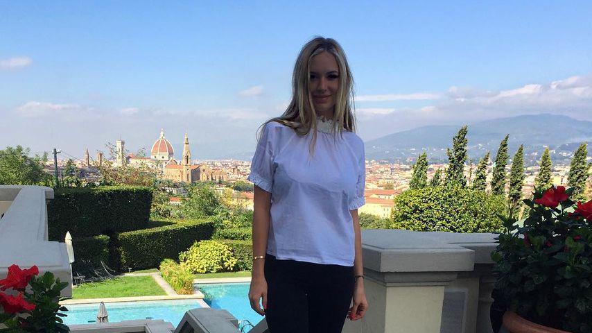 Alena Gerber in Florenz