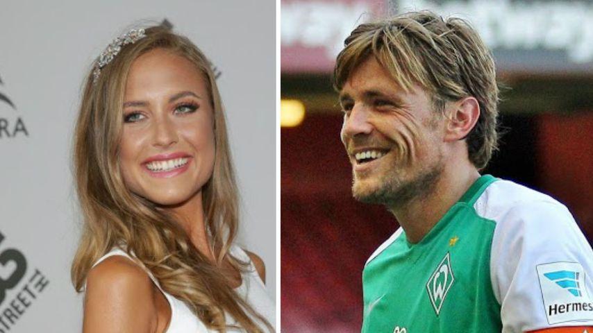 Alena Gerber & Clemens Fritz: Eltern-Date im Stadion!