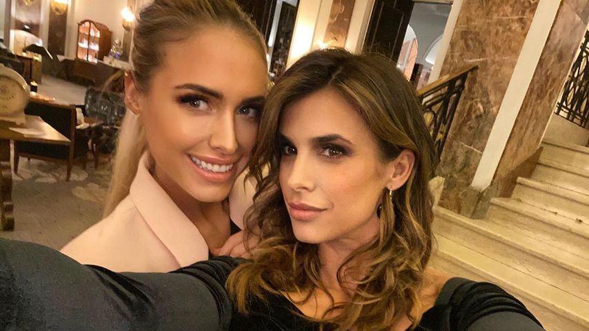 Heißes Duo: Alena Gerber posiert mit Clooney-Ex Elisabetta