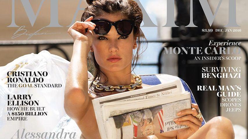 Heiße Aussichten: Alessandra Ambrosio ist komplett nackt