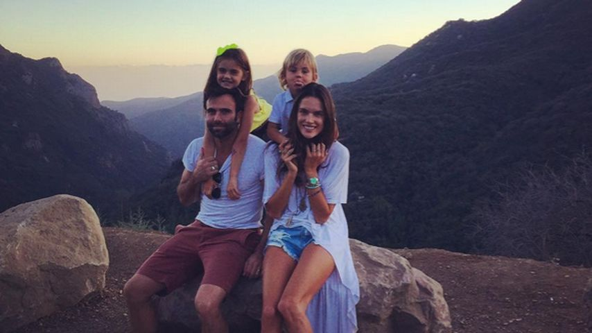 Alessandra Ambrosio: Familien-Zeit nach Fashion-Week-Job