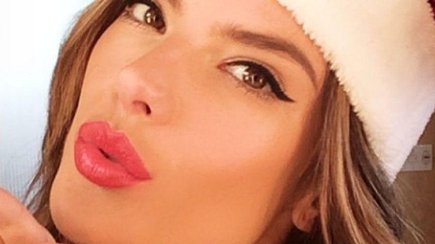 Alessandra Ambrosio sendet süße Weihnachtsgrüße