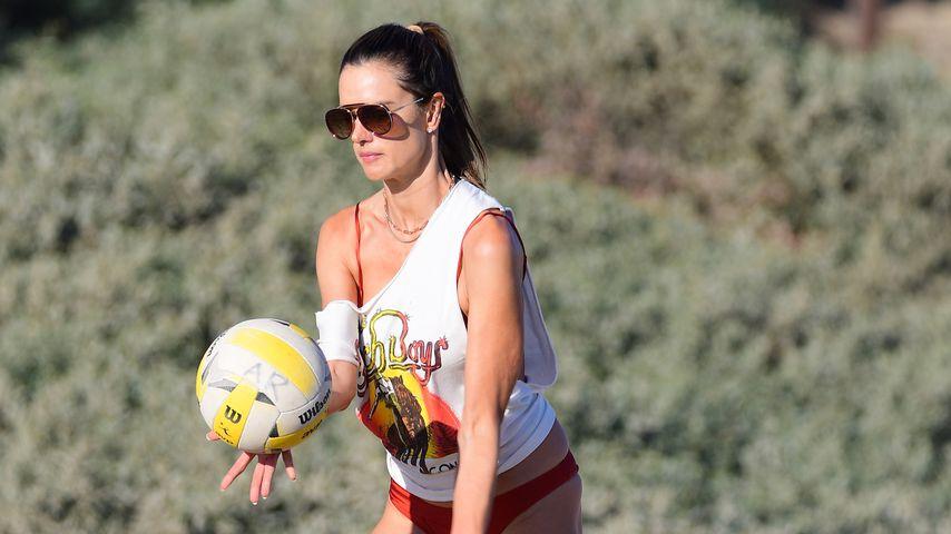 Alessandra Ambrosio im August 2020