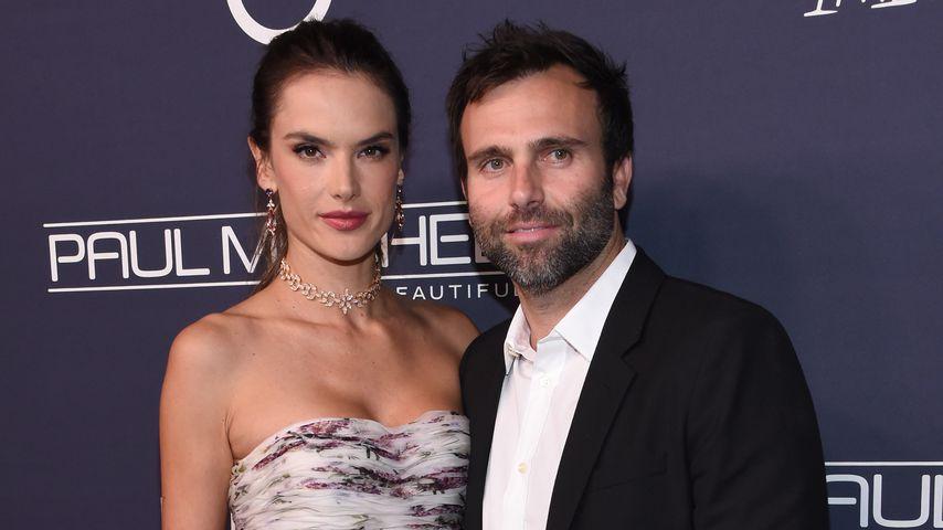 Alessandra Ambrosio und Jamie Mazur im November 2017