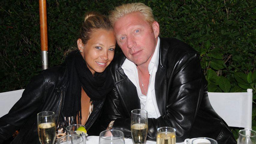 Alessandra Meyer-Wölden und Boris Becker im August 2008