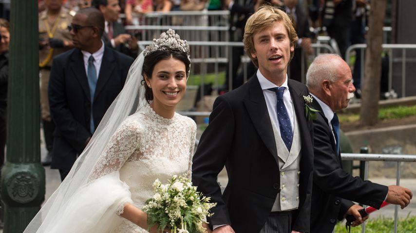 Kleid vermisst: Alessandra von Hannover zitterte vor Heirat
