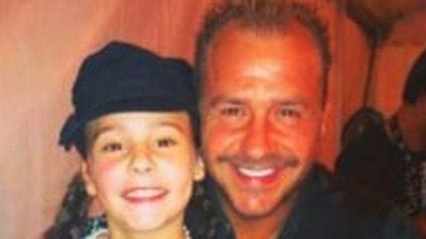 Alessia Herren mit ihrem Vater Willi Herren