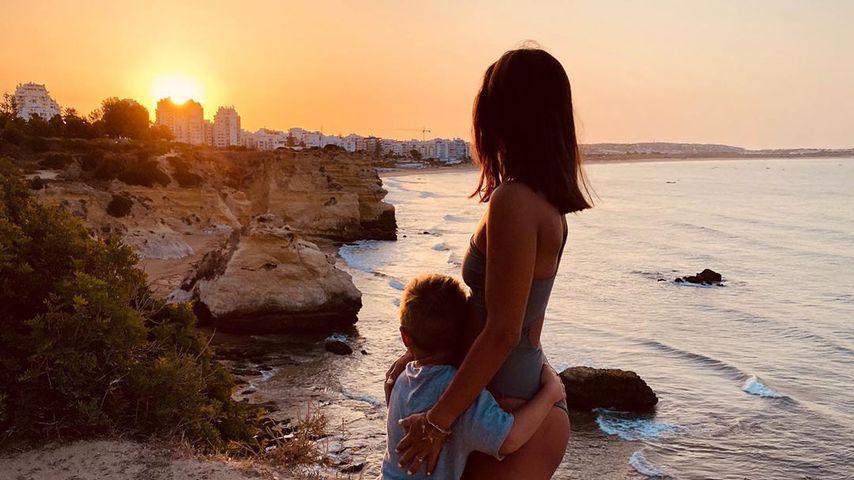 Alessio und Sarah Lombardi, Juli 2020