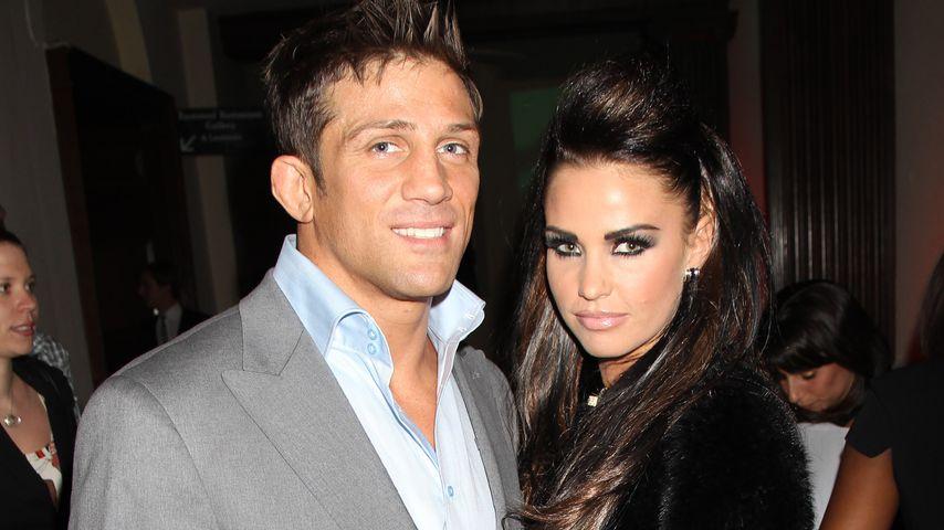 Alex Reid und Katie Price in London, 2010
