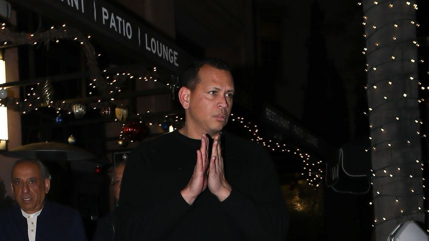 Alex Rodriguez im Januar 2020 in Beverly Hills