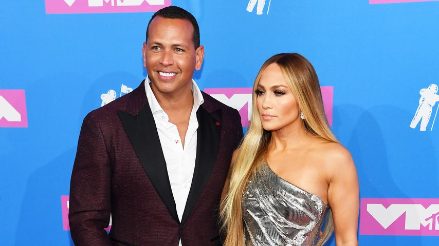 Alex Rodriguez und Jennifer Lopez bei den MTV Video Music Awards 2018
