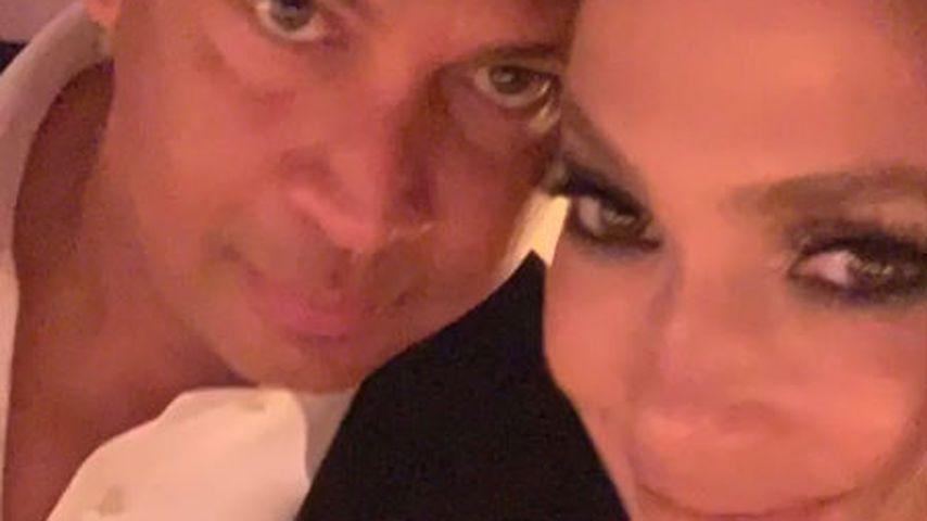 Alex Rodriguez und Jennifer Lopez bei ihrer Verlobungsfeier 2019