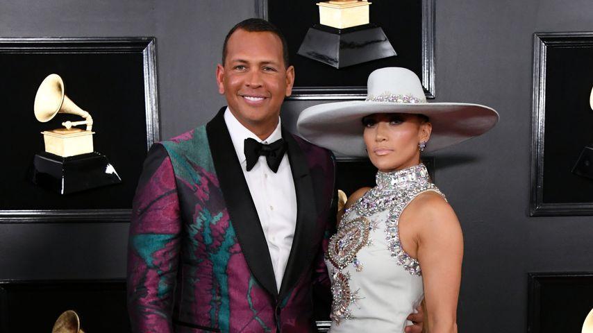 Alex Rodriguez und Jennifer Lopez bei den Grammy Awards 2019