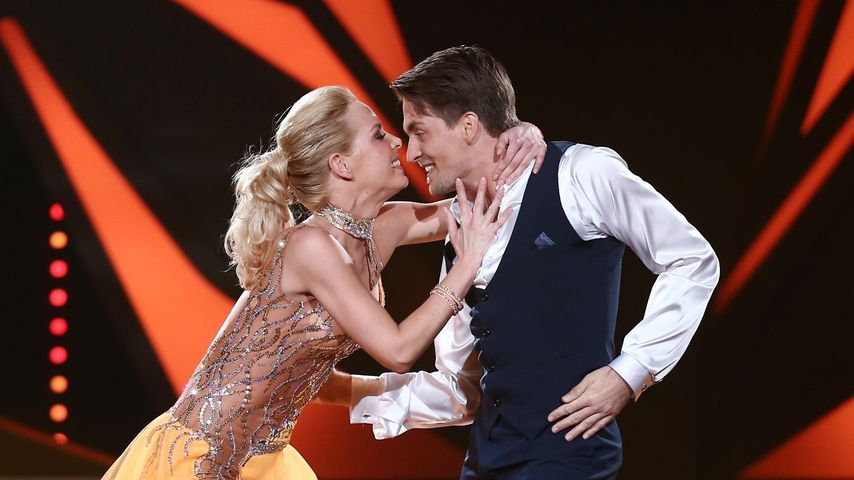 """Alexander Klaws und Isabel Edvardsson bei """"Let's Dance"""" 2014"""