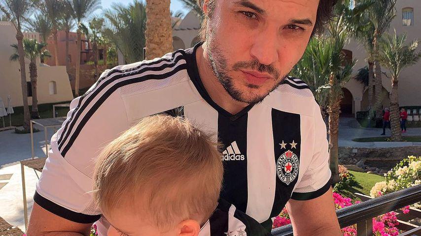 Alexander Milo und sein Sohn