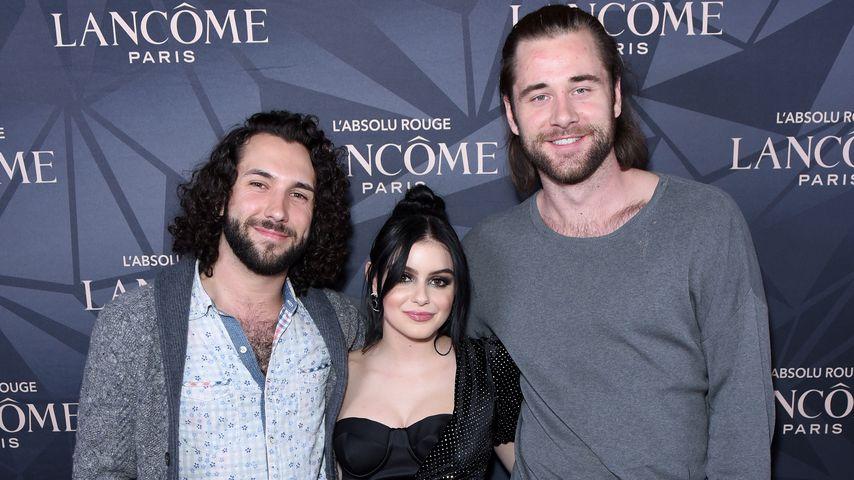 Alexander Morales, Ariel Winter und Luke Benward im April 2019