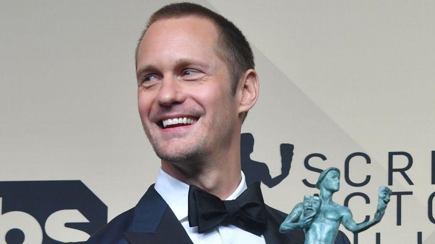 Alexander Skarsgard bei den SAG Awards 2018