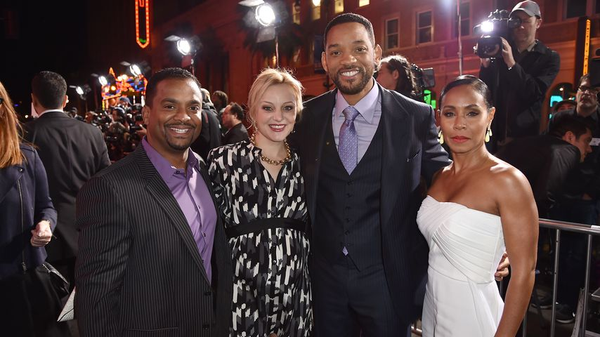 Die Ehepaare Alfonso Ribeiro & Angela Unkrich sowie Will Smith & Jada Pinkett Smith in Hollywood