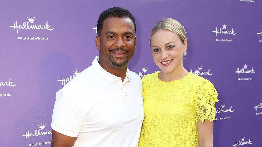 Alfonso Ribeiro mit seiner Frau Angela