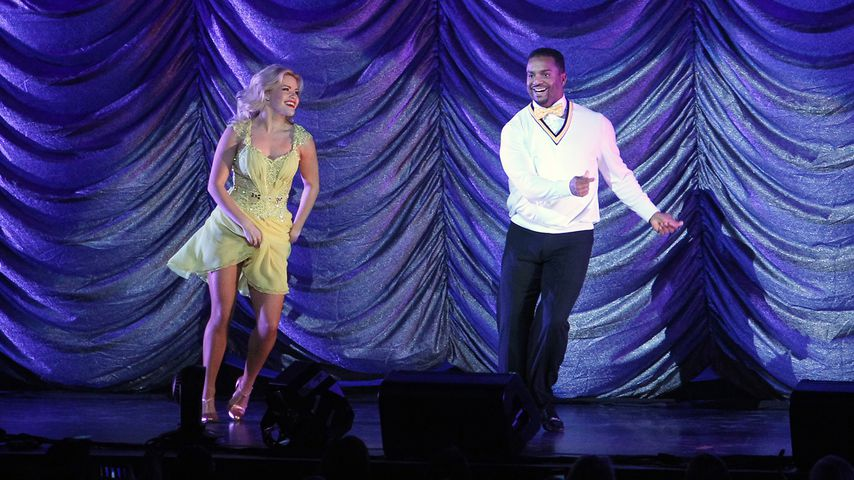 """Witney Carson und Alfonso Ribeiro bei """"Dancing With The Stars: Live!"""""""
