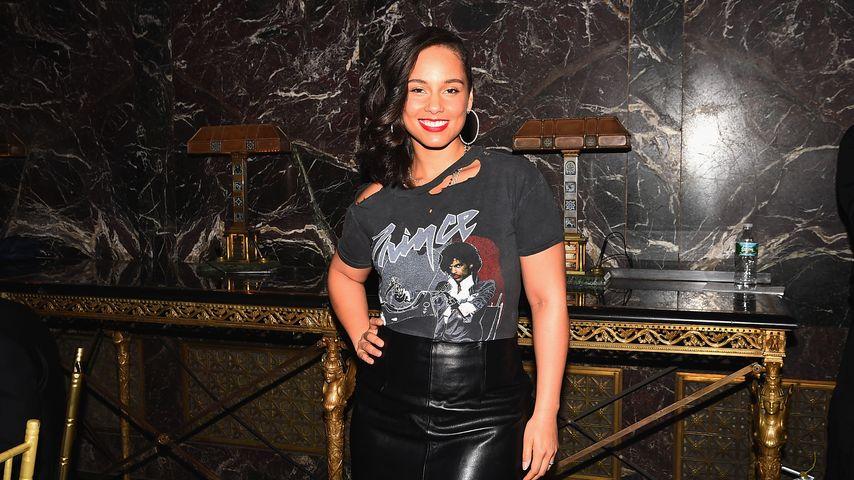 Alicia Key im Dezember 2015 bei einem Billboard-Event in New York