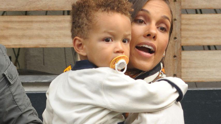 Alicia Keys Sohn (1) ist richtig groß geworden