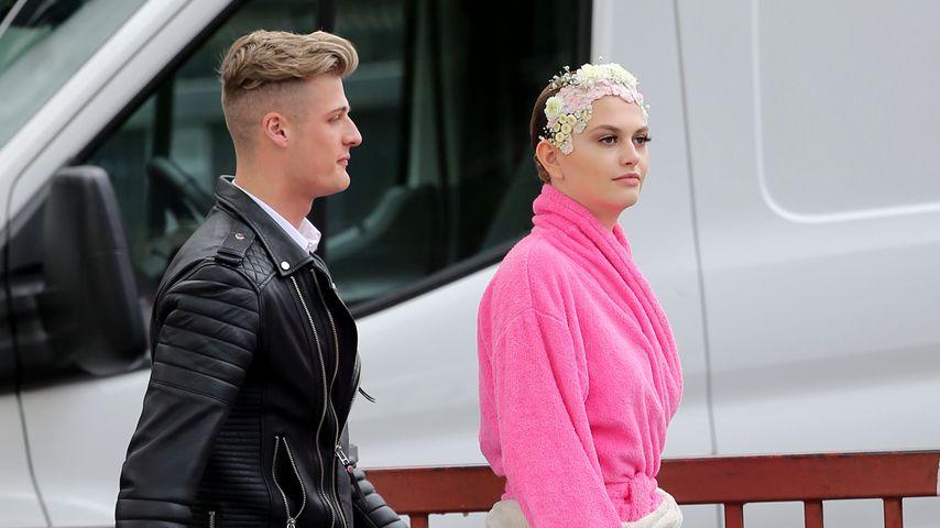 """Alicija-Laureen und ihr Freund Finn bei """"Germany's next Topmodel"""""""